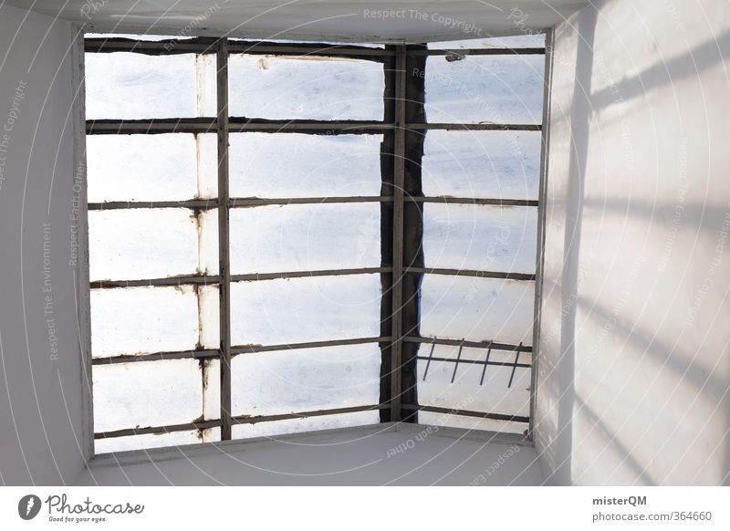 Roof window. Art Esthetic Contentment Car Window Train window View from a window Skylight Portugal Symmetry Architecture House (Residential Structure) Light