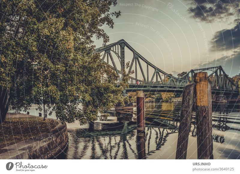 Glienicke Bridge | Connection between East and West across the Havel Potsdam Berlin Brandenburg travel Tourist Attraction Landmark Historic Capital city Tourism