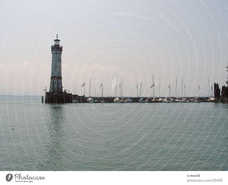 Water Lake Moody Europe Lighthouse Lake Constance Lindau