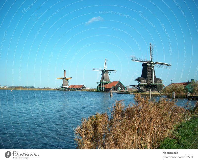 Architecture Netherlands Mill Windmill