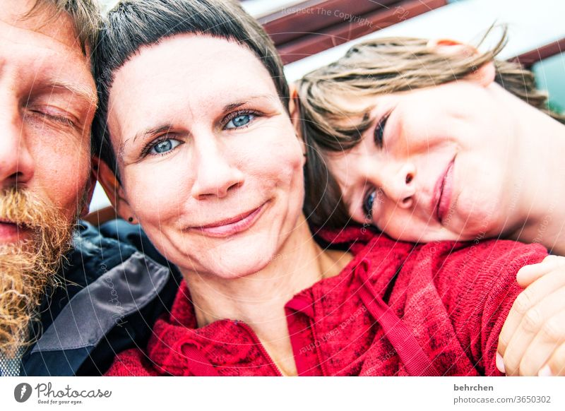 merry christmas :) Contrast Sunlight blurriness portrait Light Day Close-up Exterior shot Colour photo Motherly love Happy Happiness Contentment Trust Together
