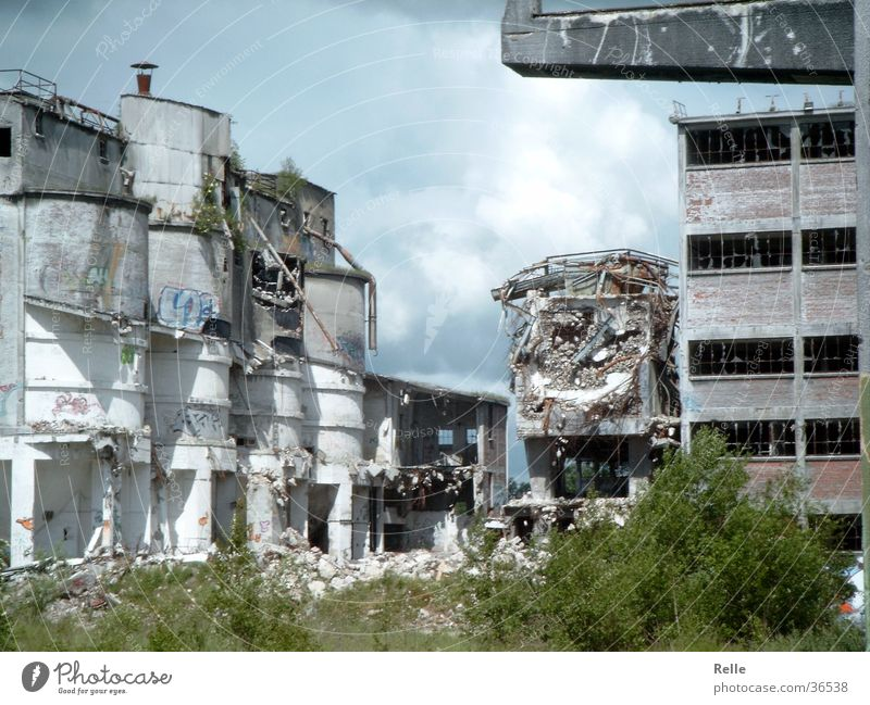 Old Architecture Industrial Photography Broken Derelict Ruin Destruction Collapse Alsen