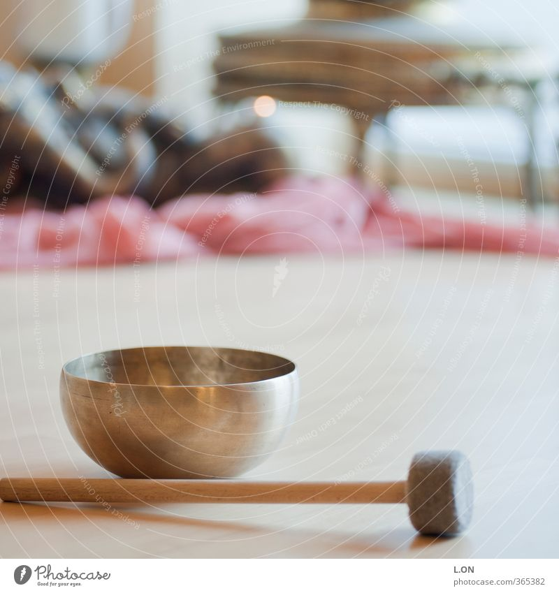 singing bowl sound Healthy Health care Wellness Life Harmonious Well-being Contentment Senses Calm Meditation Cure Sports Yoga Bowl Sound Fitness Yellow Gold