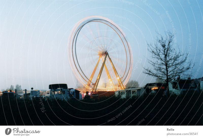 Blue Speed Fairs & Carnivals Ferris wheel Theme-park rides Backstage