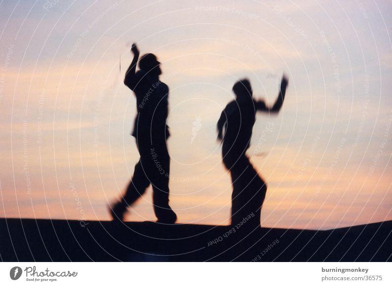 Human being Dance Dusk