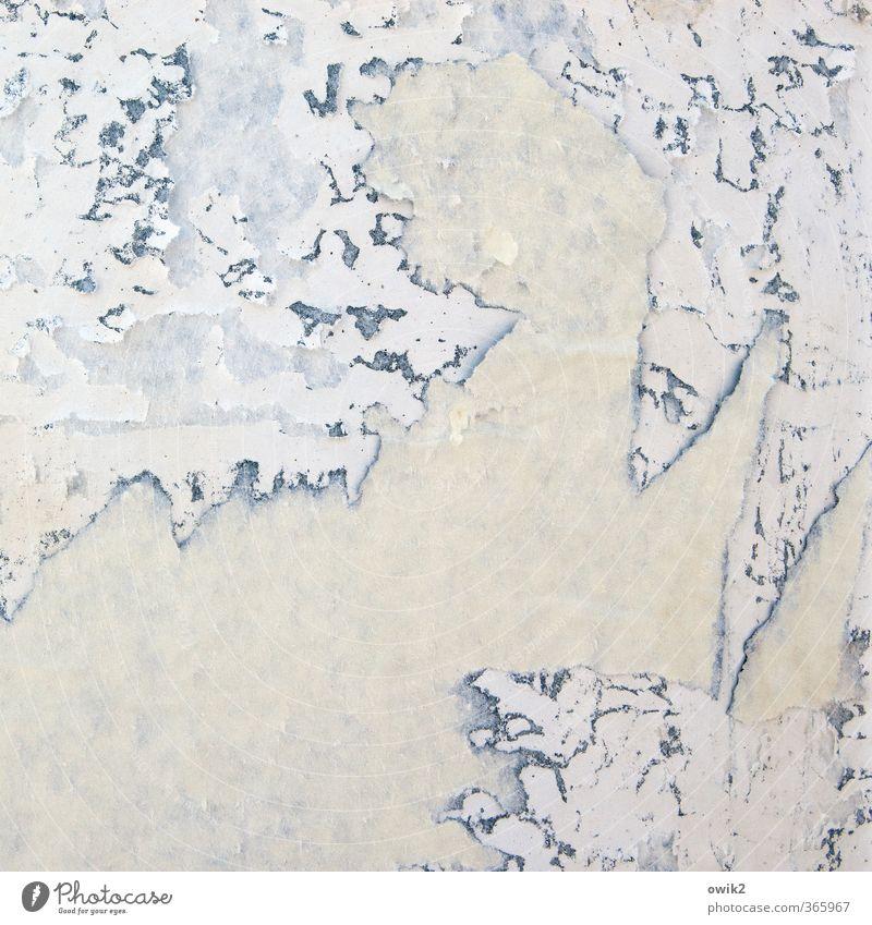 outline Paper Remainder Crack & Rip & Tear Dismantling Old Trashy Copy Space Ravages of time Derelict Waste paper Advertising column Notice Broken Exterior shot
