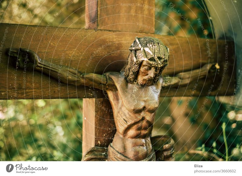 Jesus Christ on the cross Crucifix Christianity Holy Belief crucifixion Religion and faith illustration Salvation wood Church Figure Catholicism Christian cross