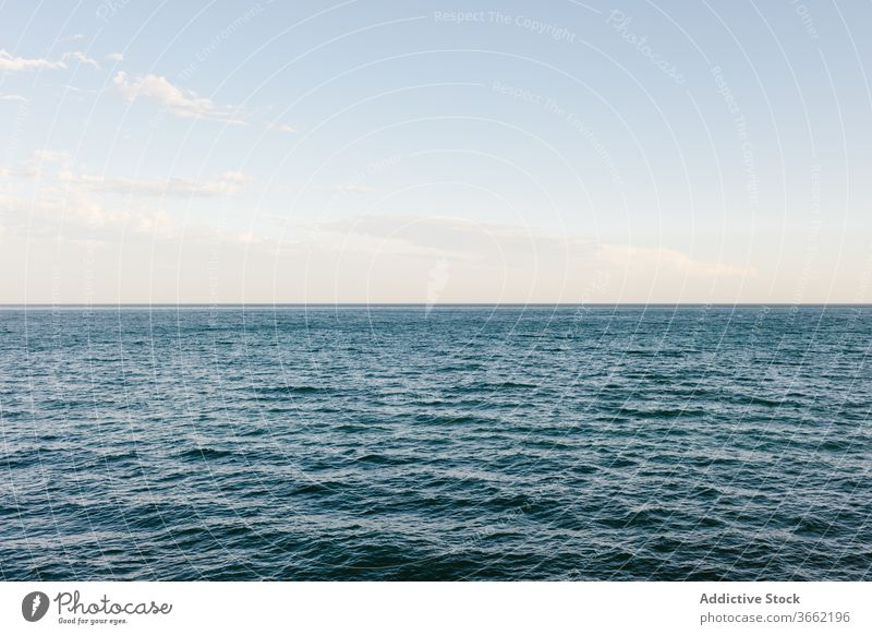 Spectacular scenery of sea in morning seascape evening calm dawn amazing spectacular water ripple sky idyllic ocean scenic nature landscape cloud tranquil coast