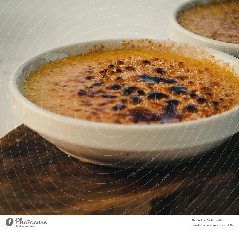 Creme Brulee Creme brulee Süßspeise Dessert Delicious Food Colour photo Slow food Sweet