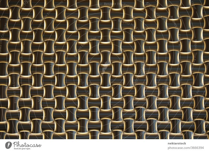 Abstract of latticed background repetition Oslo Norwegian Norway outside outdoors day full frame close up texture textured optical illusion brown dark complex
