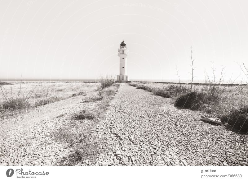 Nature Vacation & Travel Old Environment Rock Earth Tourism Infinity Cloudless sky Tourist Attraction Lighthouse Symmetry Center point