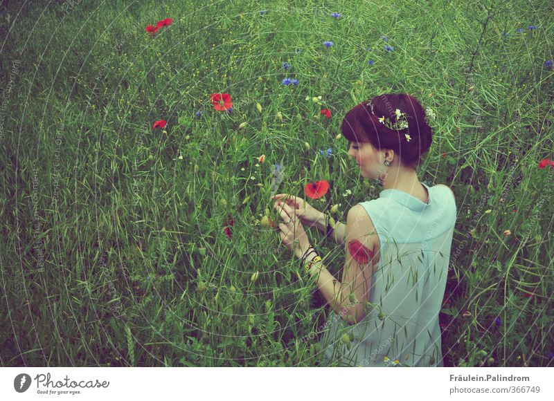 rooted II. Human being Feminine Young woman Youth (Young adults) Woman Adults Arm 1 18 - 30 years Nature Landscape Plant Spring Summer Weather Grass Bushes