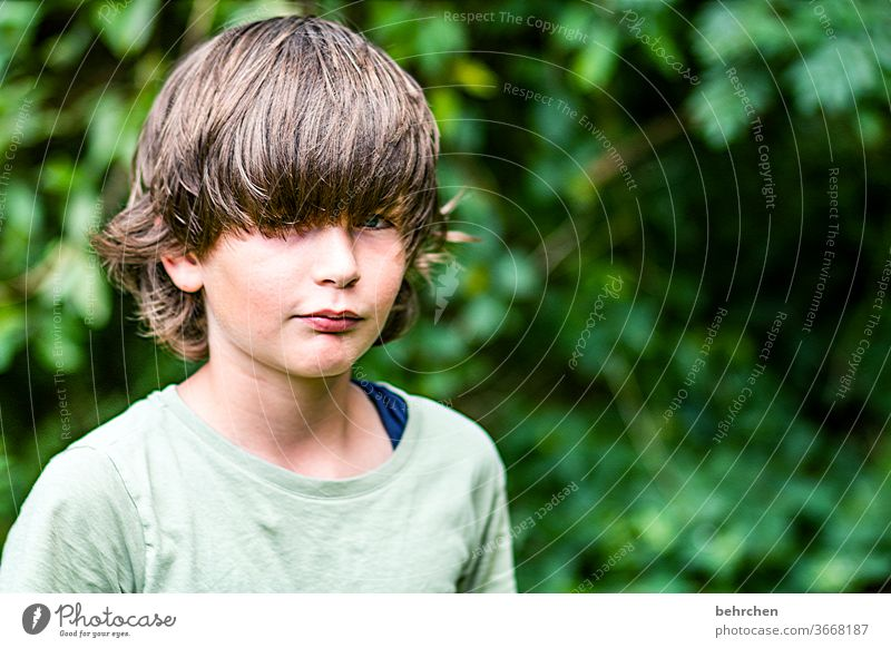 uh, overdue for a haircut?! Son Head Eyes Lips Mouth Hair and hairstyles Sunlight portrait Contrast Light Day Face Infancy Boy (child) Child Close-up Family