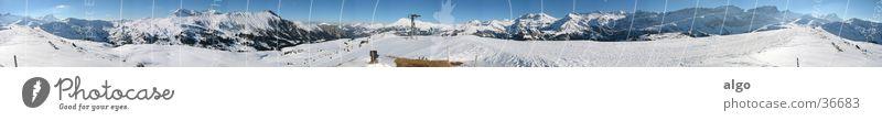 Snow Mountain Large Switzerland Alps Panorama (Format) Snow mountain Bernese Oberland
