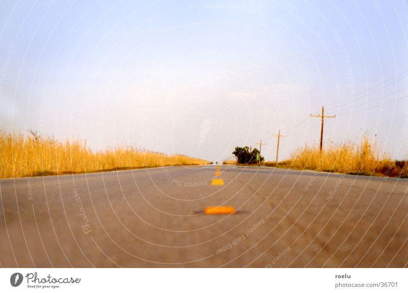 Vacation & Travel Street Car Horizon Transport USA Asphalt Highway Americas In transit