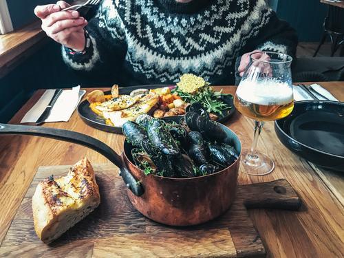 "Iceland Gourmet 24 Delicacy Mussel copper pot Dinner Lunch Meal Seafood Table <font color=""#ffff00"">-==- sync:ßÇÈâÈâ Lifestyle enjoyment Winter Cuddly"