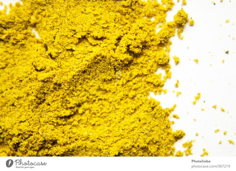 curry Food Herbs and spices Asian Food Esthetic Authentic Exotic Delicious Near Natural Dry Yellow Gold Quality Curry powder India Cooking Colour photo