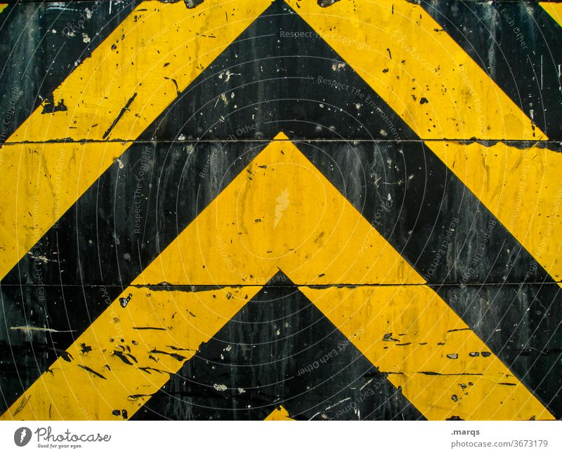 heavy metal Pattern Design Transport Metal Line Dirty Illustration Simple Black Symmetry Yellow Background picture Signs and labeling Scratch mark