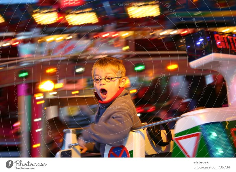 funfair Fairs & Carnivals Amazed Eyeglasses Man Respect