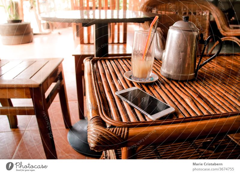 Wooden and rattan furniture as a summer themed home decor that is sustainable and environmentally friendly wooden furniture summer home decor