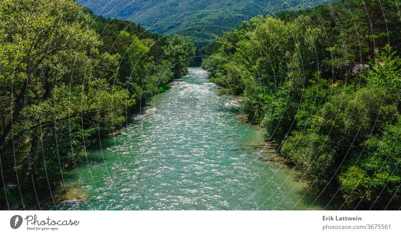 The Verdon River in the French Alpes beautiful europe france nature outdoor canyon forest gorge green landscape provence rock scenery summer tourism travel