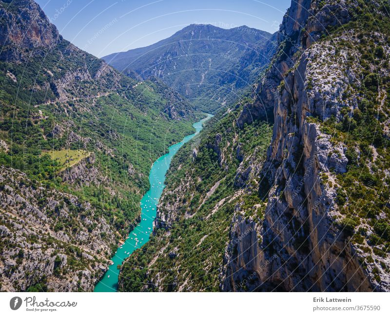 Amazing nature of the Verdon Canyon in France beautiful europe france outdoor canyon forest gorge green landscape provence rock scenery summer tourism travel