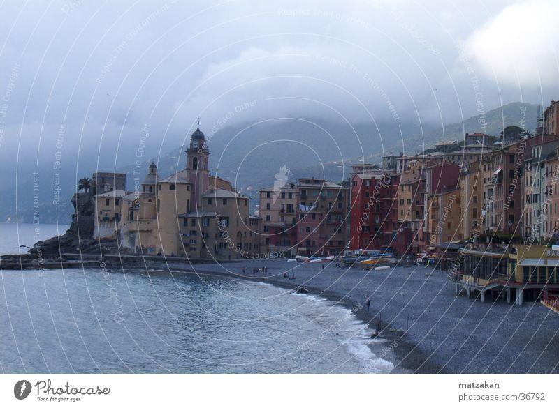 Sadness Rain Fog Europe Italy Mediterranean sea Ocean