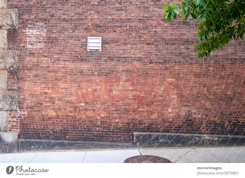 outdoor brick wall and walkway floor abstract aged antecedents architectural architecture art backdrop background basement blank block blocks brickwork brown