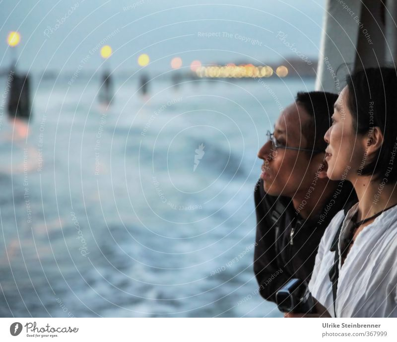 Viewing Venice 2 Vacation & Travel Tourism Trip Sightseeing City trip Human being Masculine Feminine Young woman Youth (Young adults) Young man Woman Adults Man