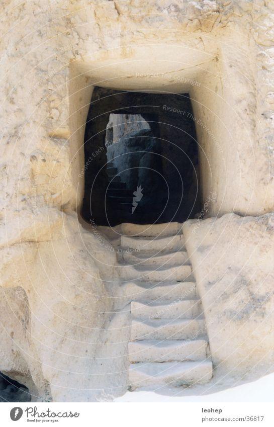 stairs in göreme, turkey Turkey Tufa Entrance Architecture divine cave churches Stairs