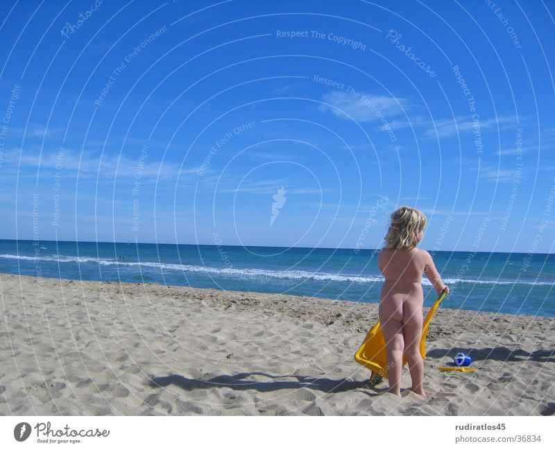 beach angel Girl Beach Ocean Blonde