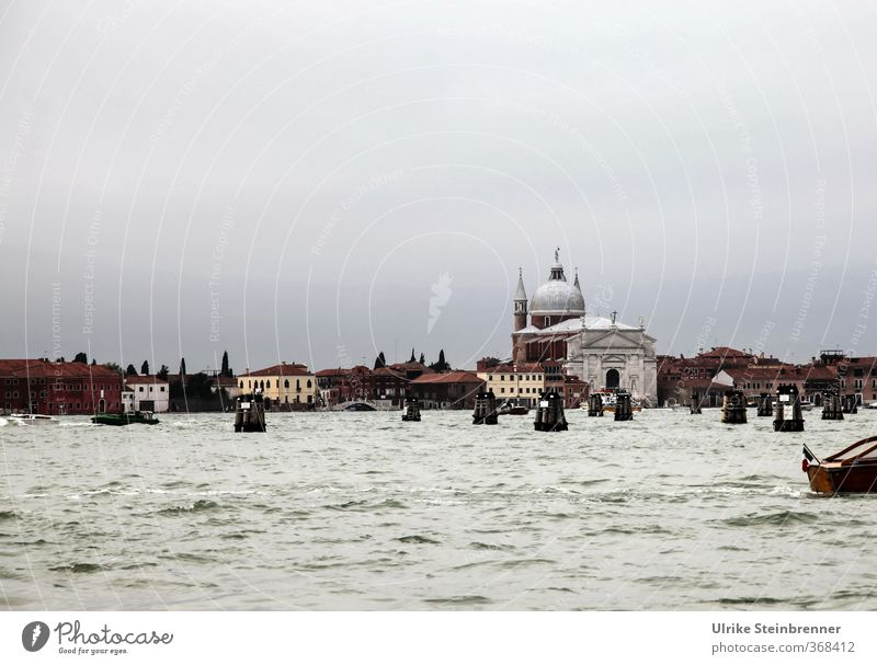 Salute / Theme Day Venice Vacation & Travel Tourism Sightseeing City trip Italy Town Port City Outskirts Old town House (Residential Structure) Church Dome