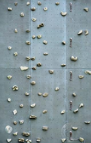 Take it. Climbing wall climbing grips Lifestyle Fitness Climbing facility Day Mountaineering Wall (building) Leisure and hobbies Colour photo Sports Bouldering