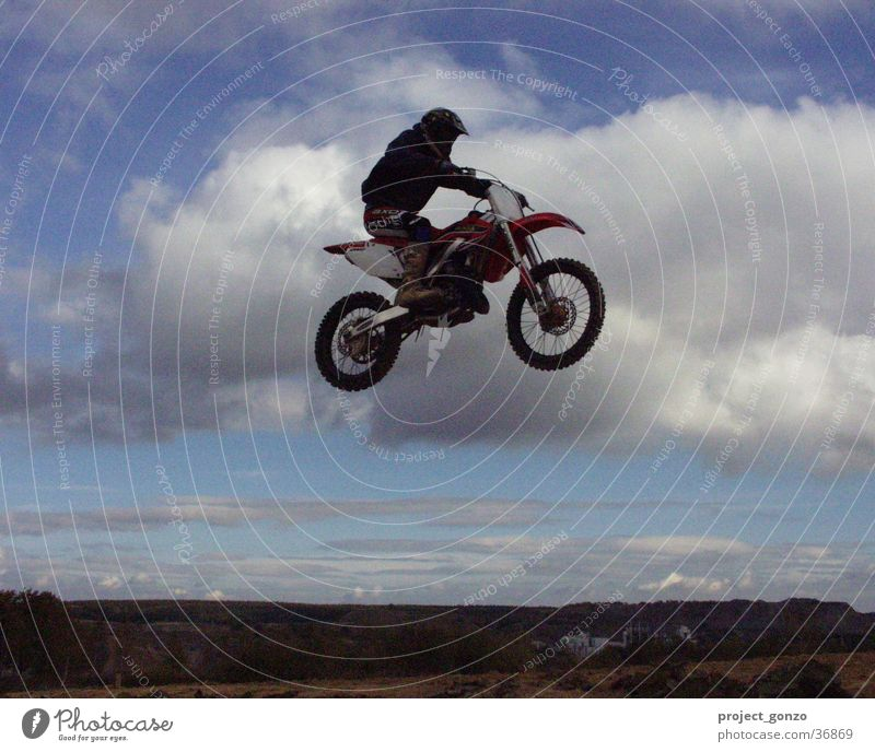 motocross Motorcycle Extreme sports Sports Racing sports Flying