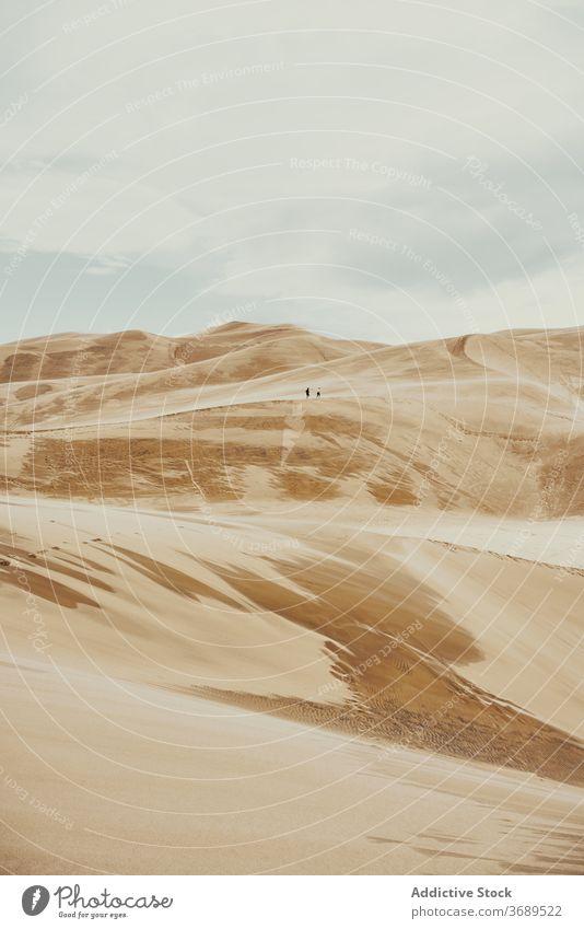 Great Sand Dunes National Park sand dune landmark mountain national park landscape scenic scenery desert colorado usa united states america sky wild nature