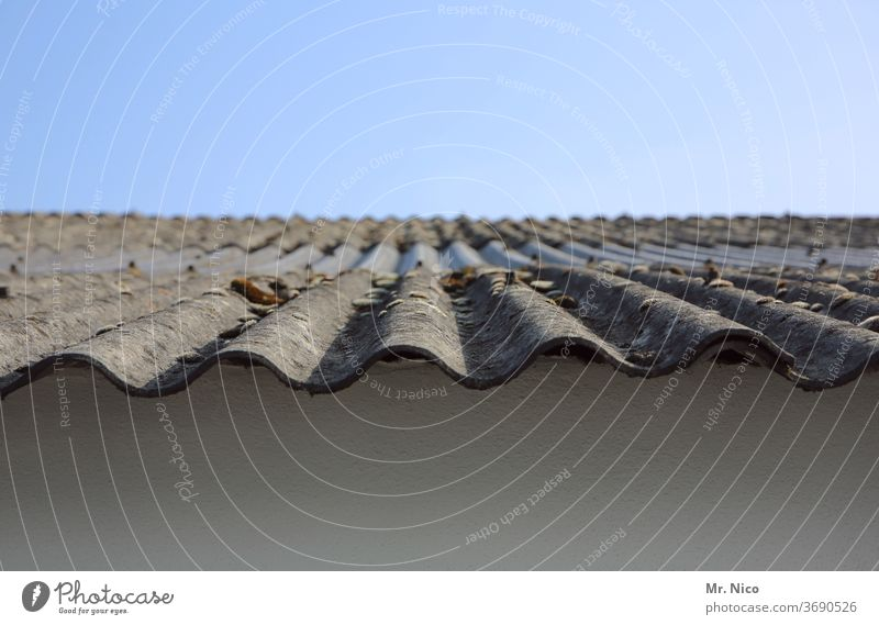 Corrugated Roof Panels A Royalty Free Stock Photo From Photocase