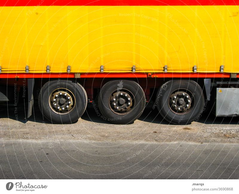 delivery truck lorry Truck Logistics Transport Shipping Delivery Trailer Vehicle cargo lorries Cargo Yellow Delivery person Package