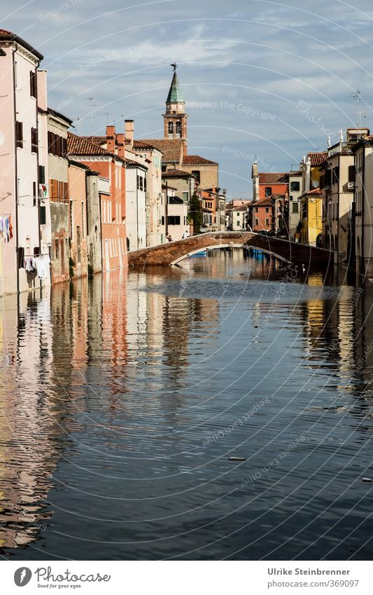 Built close to the water 2 Vacation & Travel Tourism Sightseeing City trip Summer Waves Bay Lagoon chioggia Venice Veneto Italy Fishing village Port City