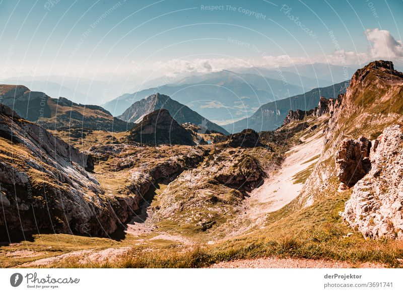 Hiking at the Achensee Nature Nature reserve Effort Environment Brave Beginning Mountain Colour photo Copy Space right Shadow Sunlight Beautiful weather Force