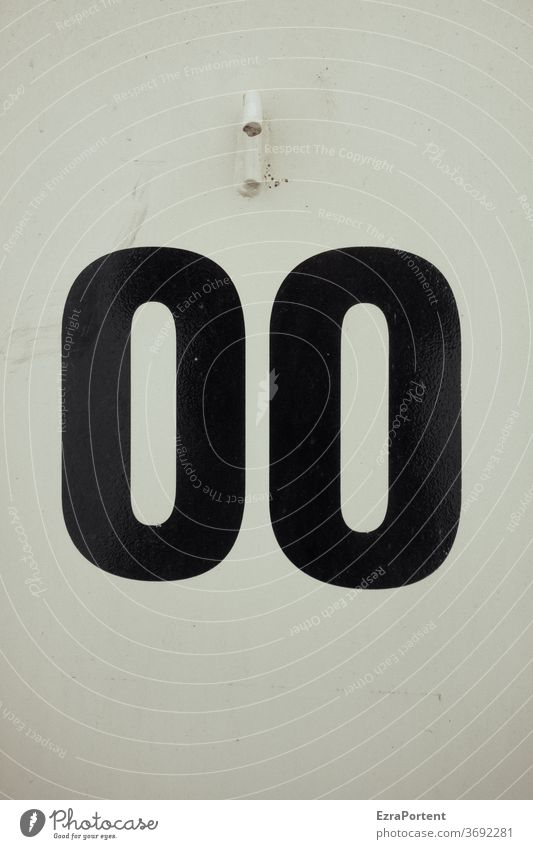 no opposition? nil number 0 00 Symbols and metaphors Black White Sign background Digits and numbers Toilet Signs and labeling Characters