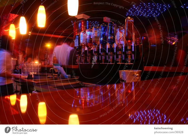 bar business Beverage Club Bar Life Bremen Suspended Light Jetty Bottle night stubu Foyer overhead Schöning