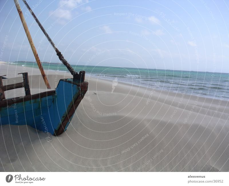 the buried ship Sand Watercraft Bury Ocean Tarifa Blue