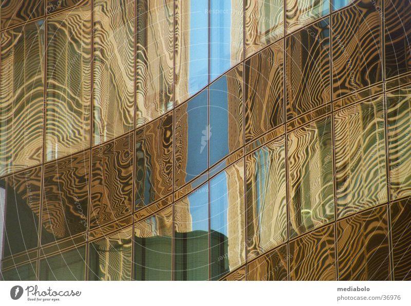 Sky Building Architecture Glass Places Vaulting Moiré effect