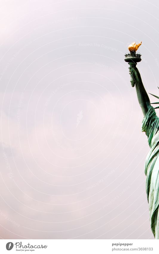 Statue of Liberty New York, America Statue of liberty New York City USA Landmark Tourist Attraction Exterior shot Monument Freedom Vacation & Travel City trip