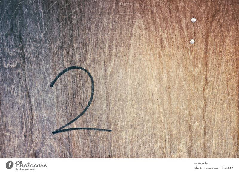 two Wall (barrier) Wall (building) Facade Wood Sign Characters Digits and numbers Advancement 2 Two-piece Means of payment Written Wooden board Board