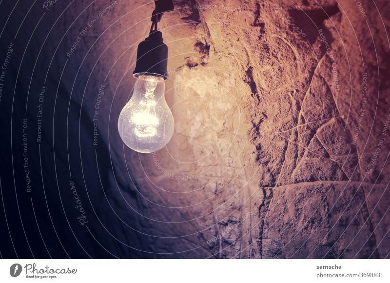 Light into the darkness Trip Adventure Interior design Illuminate Dark Bright Lamp Lamplight Electric bulb Flare Bright spot Lighting Cave Cave residence