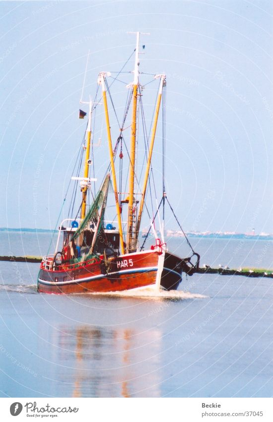 Ocean Vacation & Travel Watercraft Europe North Sea Schleswig-Holstein Fishing boat Harlesiel Crab cutter
