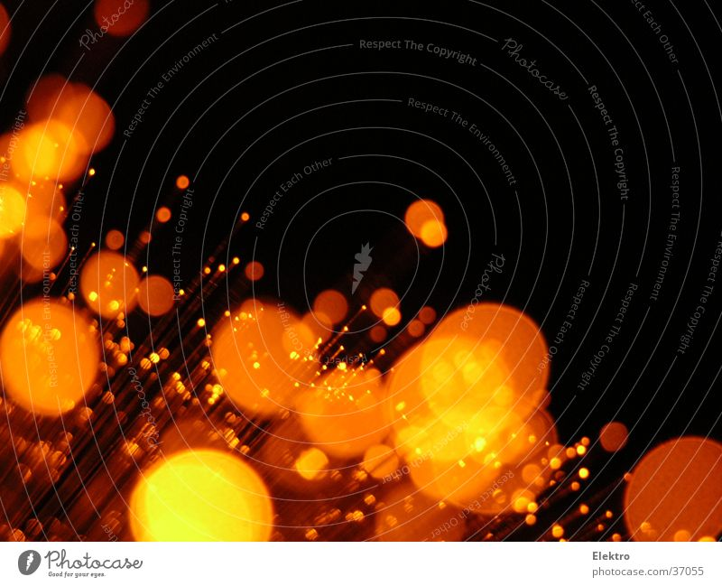 Capri Orange Light Radiation Lamp Glass Thread Fiber optics Laser Reflection Christmas decoration New Year's Eve Lens flare Glittering Tactics Firecracker Night