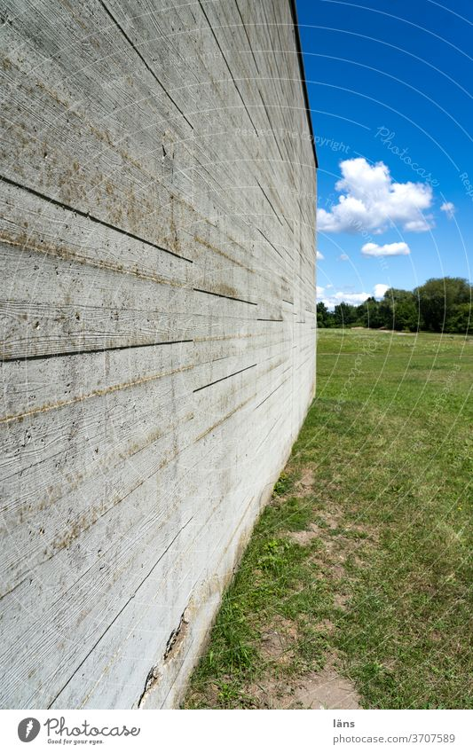 Division | prison wall Wall (barrier) jail Exterior shot Exclusion obstacle Hamburg Neuengamme Meadow Lock up Border Justice Penitentiary Captured Safety
