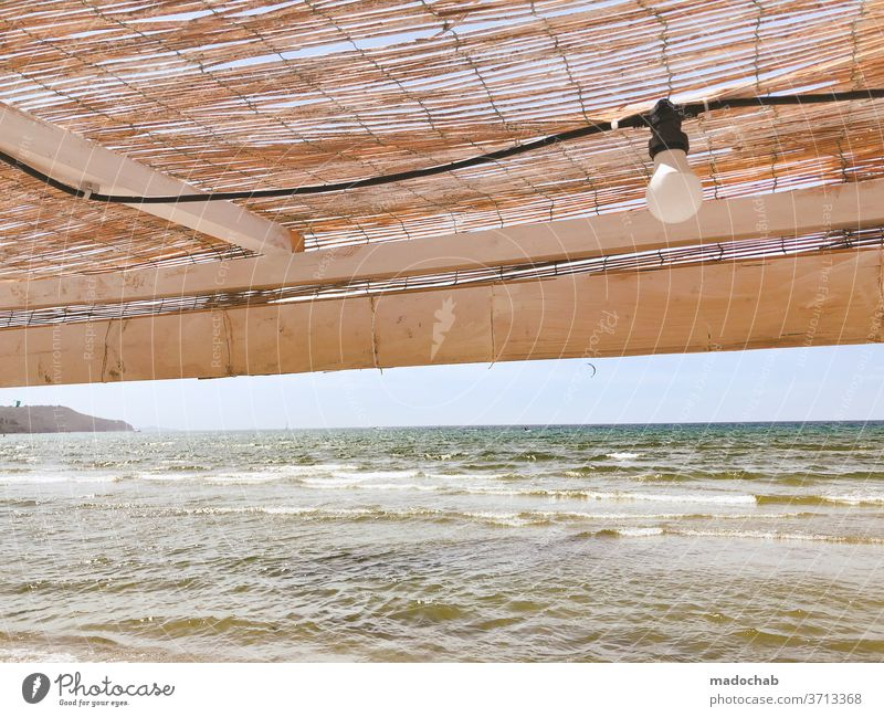 On the beach Beach Ocean Waves Water Coast Sand Surf Summer Vacation & Travel Landscape Horizon Exterior shot Deserted Far-off places Relaxation Summer vacation